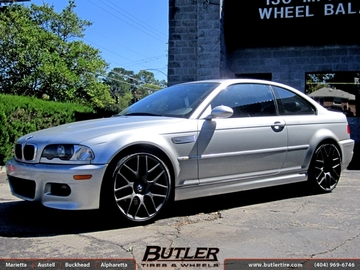 BMW 3 Series with 20in TSW Nurburgring Wheels