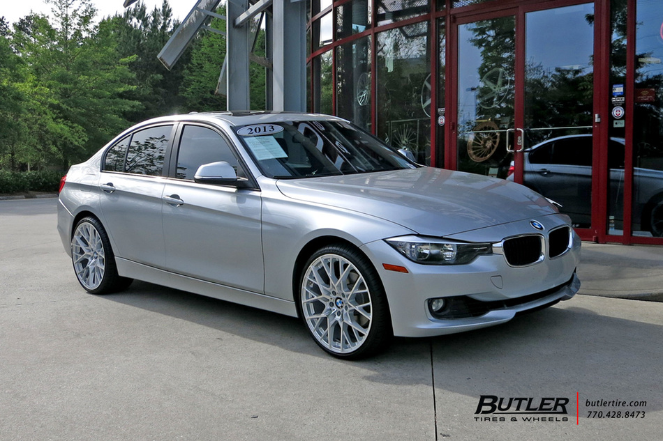 Bmw 3 Series With 20in Tsw Sebring Wheels Exclusively From