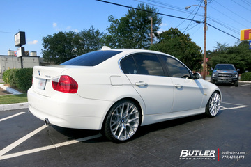 BMW 3 Series with 20in TSW Sebring Wheels
