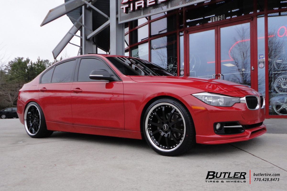 BMW 3 Series with 20in Vertini Milano Wheels