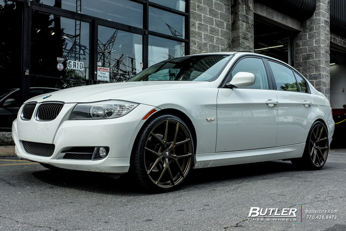 BMW 3 Series with 20in Vorsteiner V-FF 101 Wheels