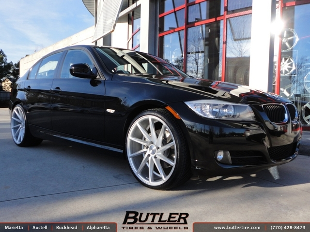 BMW 3 Series with 20in Vossen CVT Wheels exclusively from Butler Tires and Wheels in Atlanta, GA ...