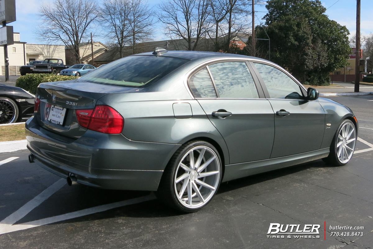 Bmw 3 Series With 20in Vossen Cvt Wheels Exclusively From