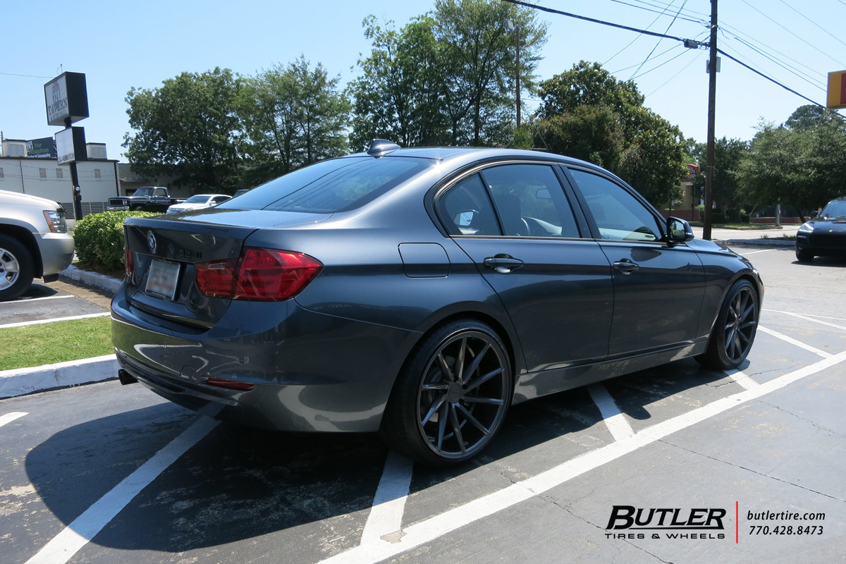 BMW 3 Series with 20in Vossen CVT Wheels