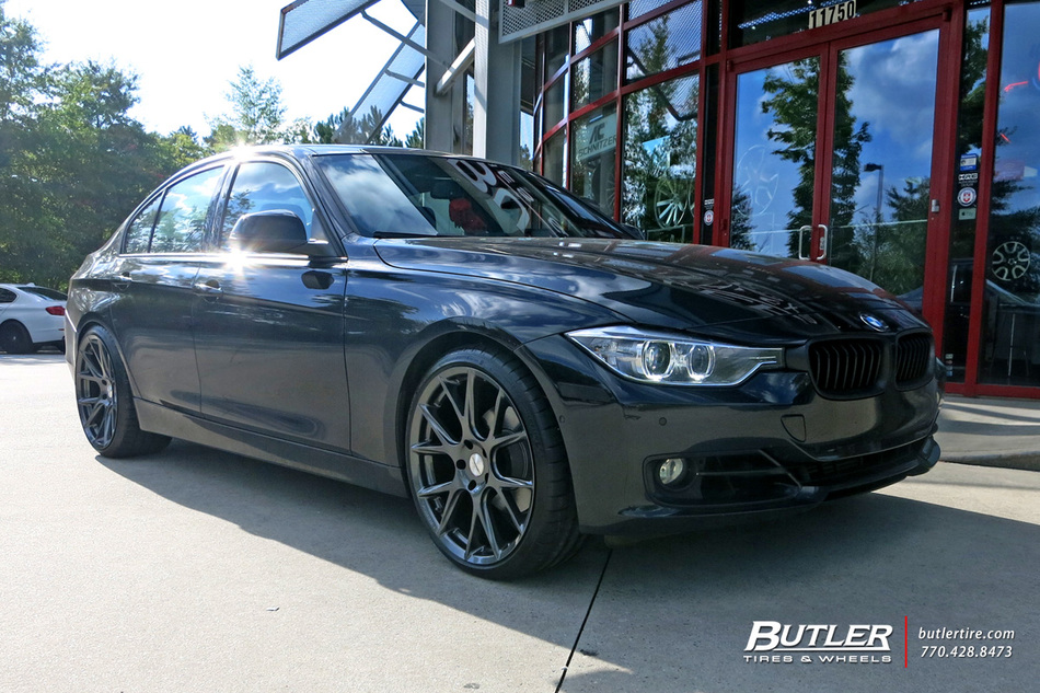 BMW 3 Series with 20in Vossen VFS6 Wheels exclusively from Butler Tires and Wheels in Atlanta ...