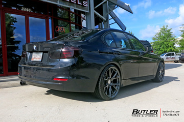 BMW 3 Series with 20in Vossen VFS6 Wheels