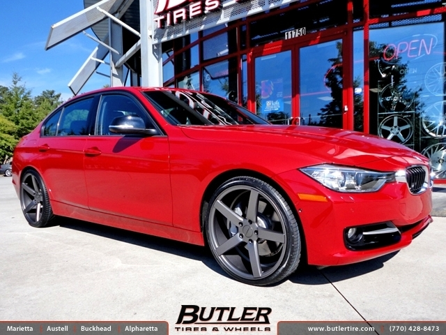 BMW 3 Series with 20in Vossen CV3 Wheels
