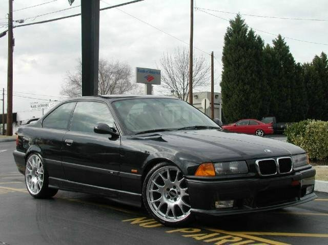 BMW 3 series with 19in BBS CH Wheels