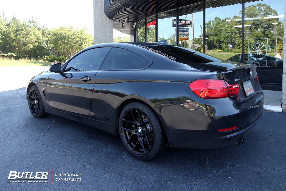 BMW 4 Series with 18in TSW Tabac Wheels