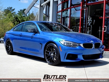 BMW 4 Series with 19in Breyton Race GTS Wheels