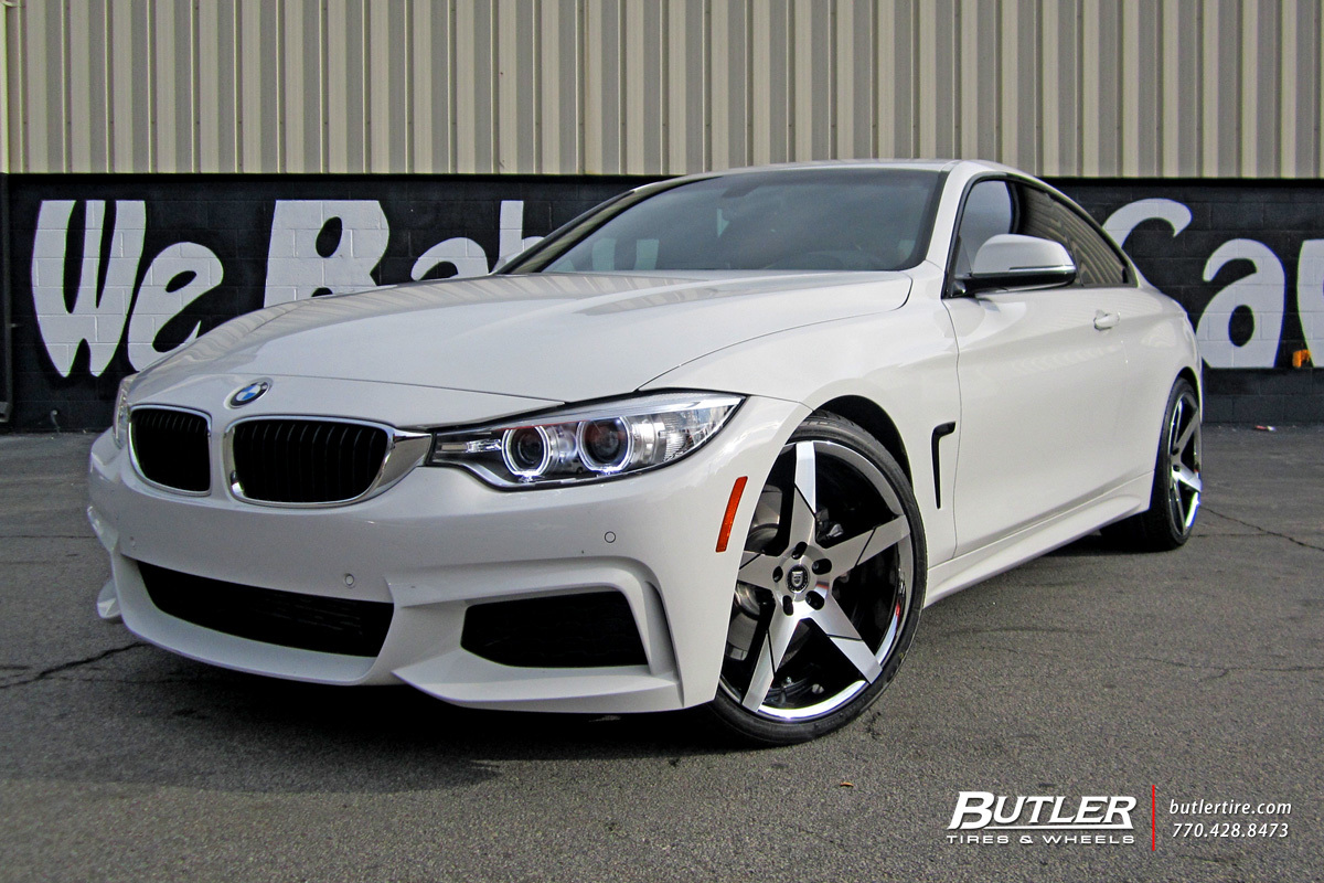 BMW 4 Series with 20in Lexani Invictus Wheels