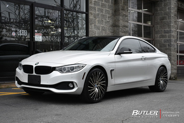 BMW 4 Series with 20in Lexani Wraith Wheels