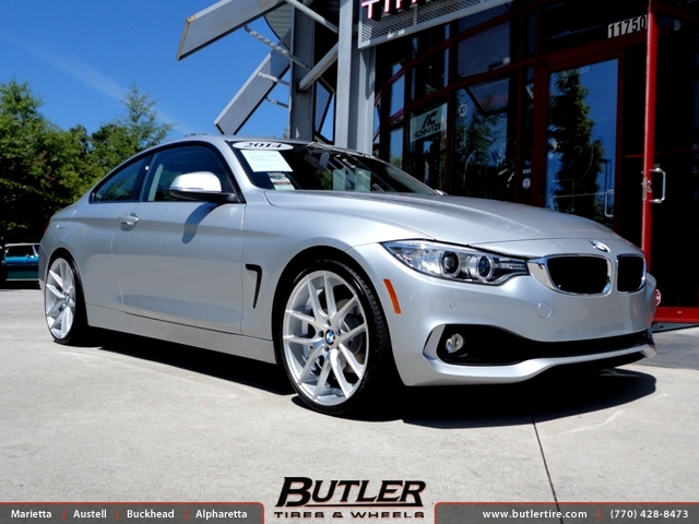 BMW 4 Series with 20in Niche Targa Wheels