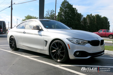 BMW 4 Series with 20in Savini BM15 Wheels