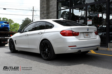 BMW 4 Series Gran Coupe with 19in Beyern Ritz Wheels