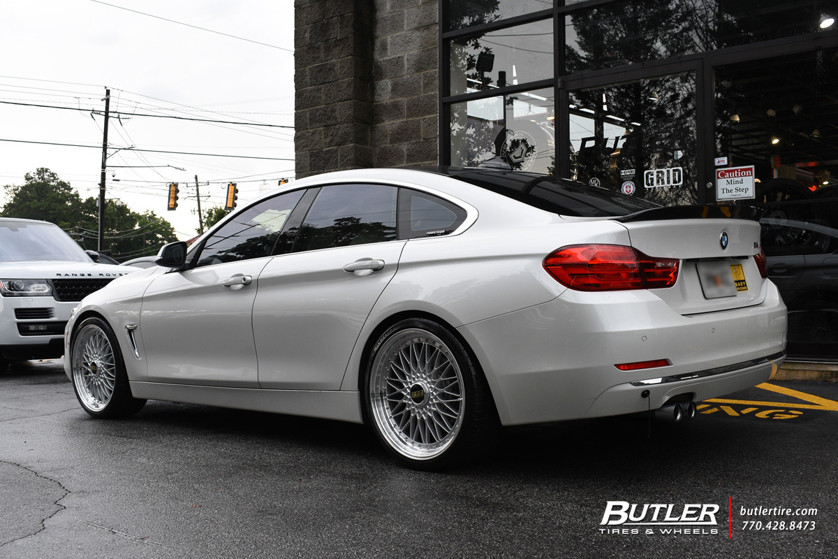 BMW 4 Series Gran Coupe with 20in BBS Super R Wheels