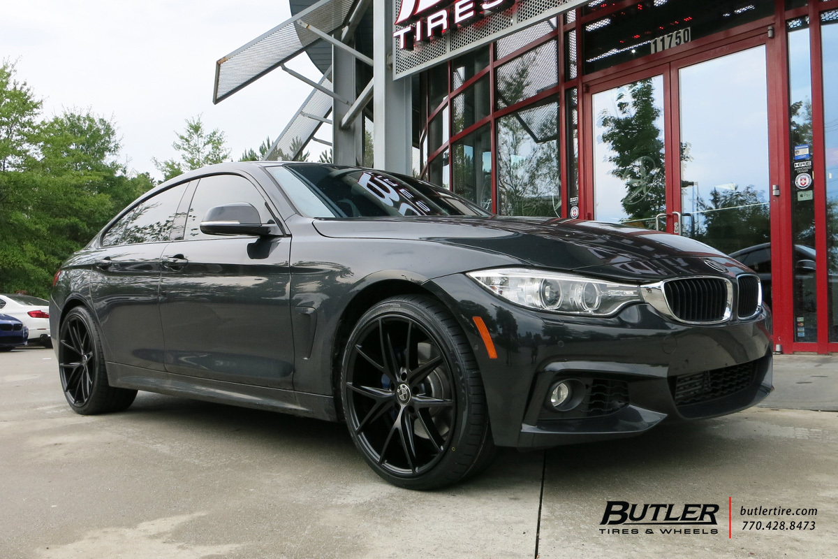 BMW 4 Series Gran Coupe with 20in Niche Misano Wheels