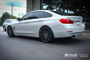 BMW 4 Series Gran Coupe with 20in Savini BM13 Wheels