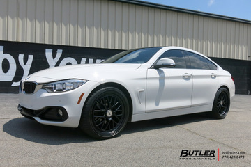 BMW 4 Series Gran Coupe with 20in TSW Hockenheim S Wheels