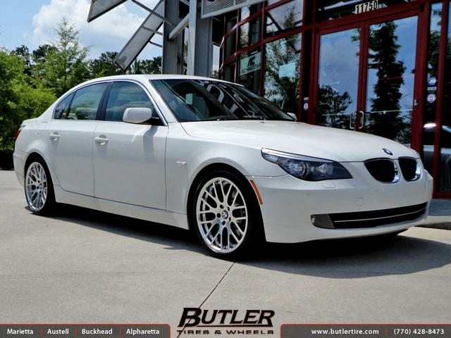 Bmw 5 Series With 19in Beyern Spartan Wheels Exclusively