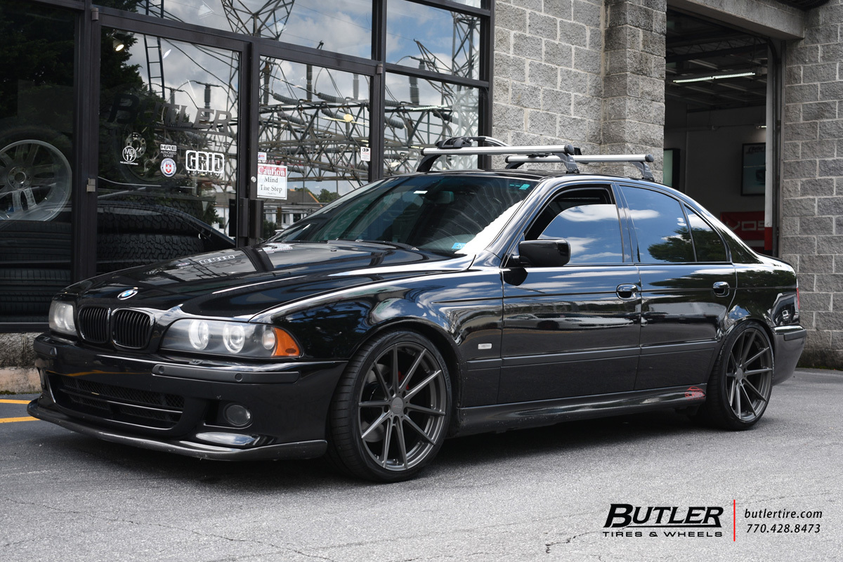 BMW 5 Series with 19in TSW Bathurst Wheels