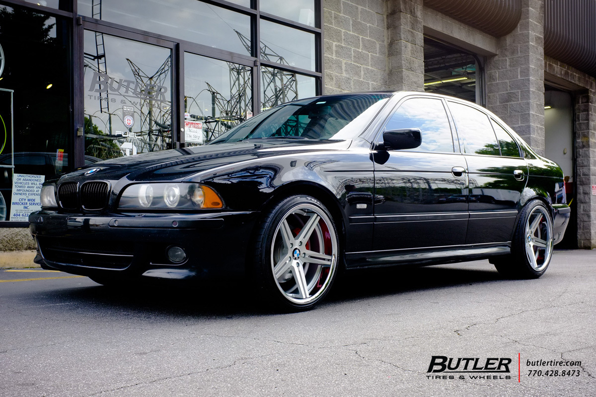 BMW 5 Series with 19in TSW Mirabeau Wheels