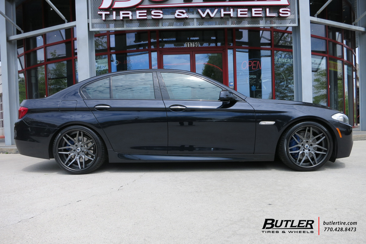 BMW 5 Series with 20in Asanti CX840 Wheels