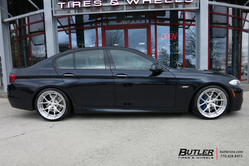 BMW 5 Series with 20in Asanti TL101 Wheels