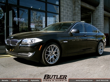 BMW 5 Series with 20in BBS CH-R Wheels