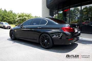 BMW 5 Series with 20in Beyern Antler Wheels