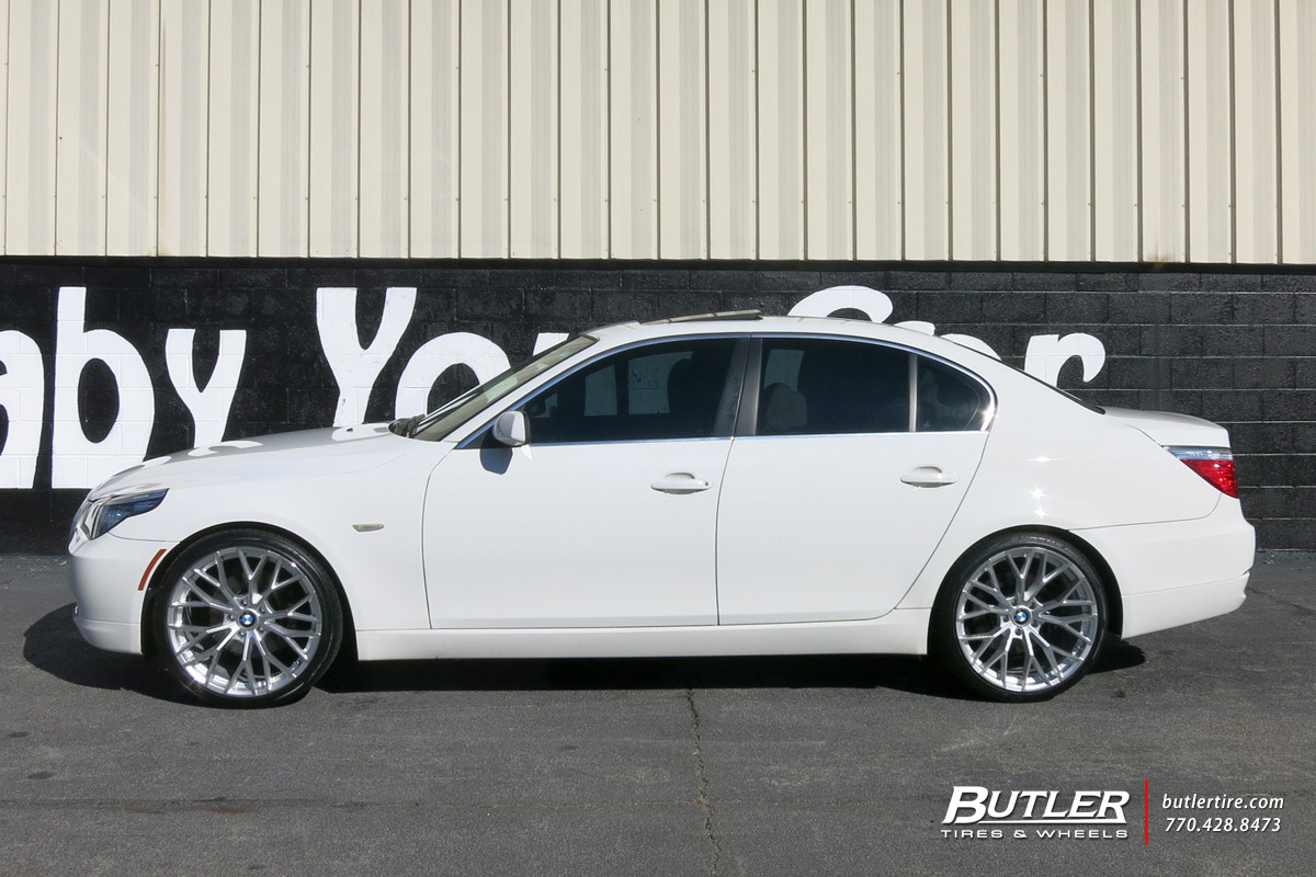 Bmw 5 Series With 20in Beyern Antler Wheels Exclusively