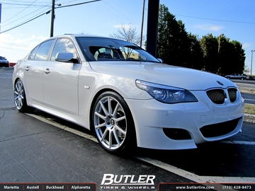 BMW 5 Series with 20in Beyern Bavaria Wheels