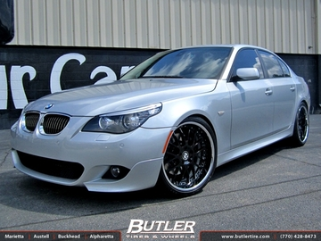 BMW 5 Series with 20in Beyern Henne Wheels