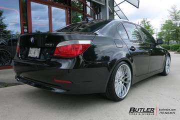 BMW 5 Series with 20in Beyern Munich Wheels