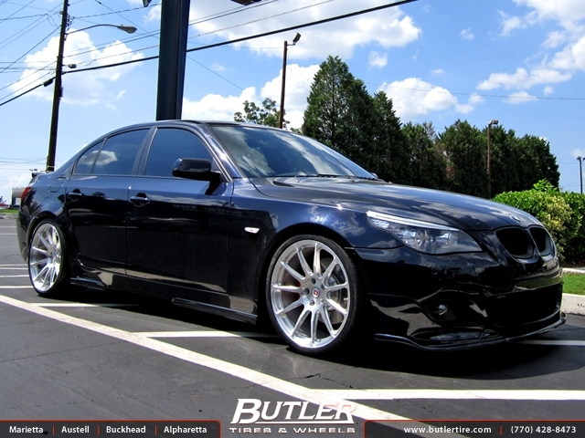 BMW 5 Series with 20in HRE P43 Wheels