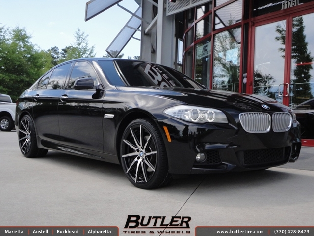 BMW 5 Series with 20in Lexani CSS15 Wheels