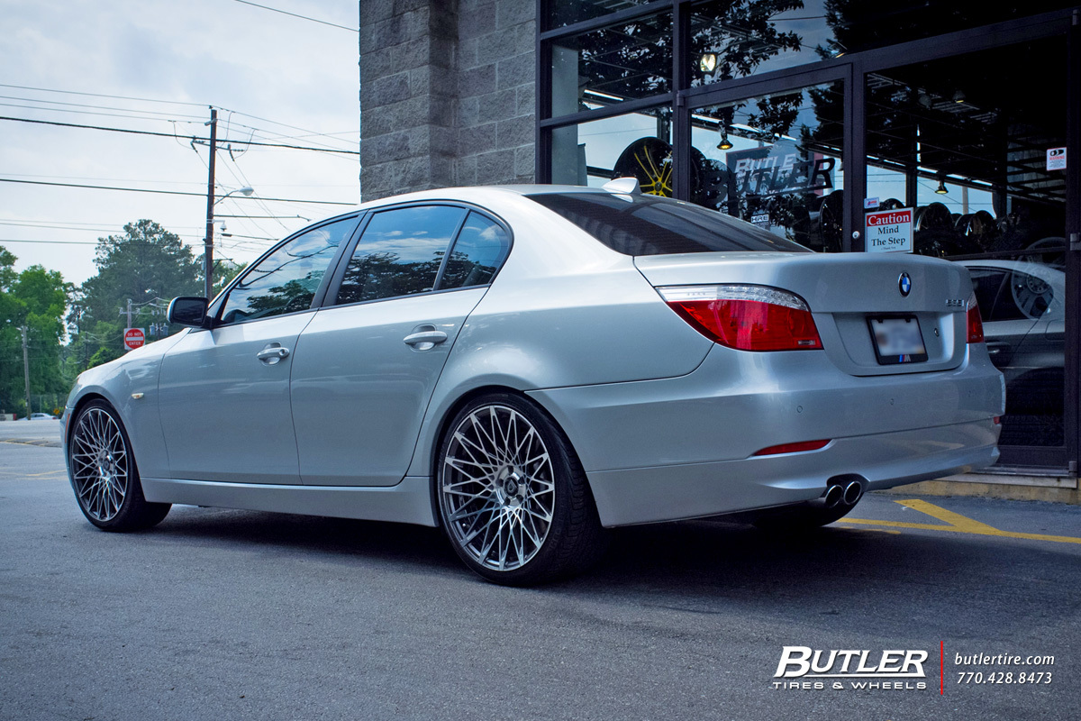 BMW 5 Series with 20in Lexani CSS16 Wheels