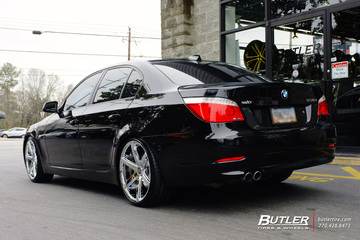 BMW 5 Series with 20in Lexani R-Six Wheels