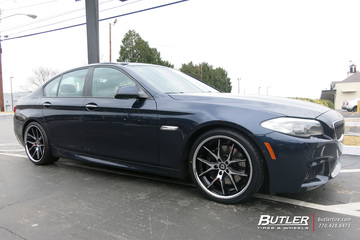 BMW 5 Series with 20in Lexani R-Twelve Wheels