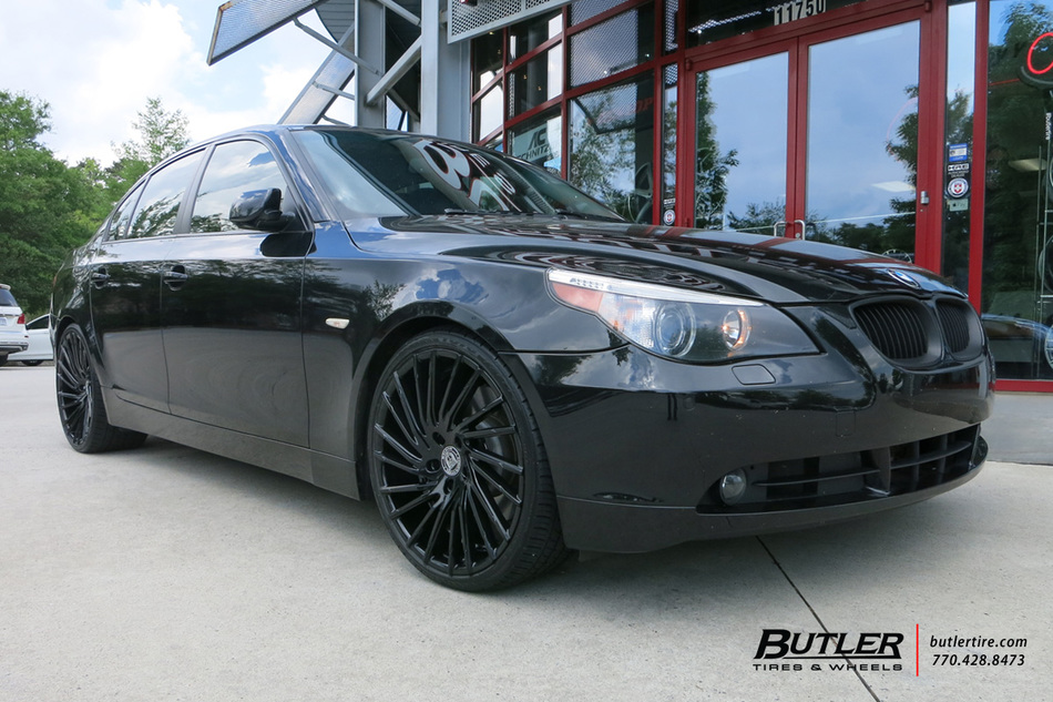 BMW 5 Series with 20in Lexani Wraith Wheels exclusively ...