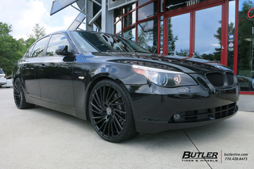 BMW 5 Series with 20in Lexani Wraith Wheels