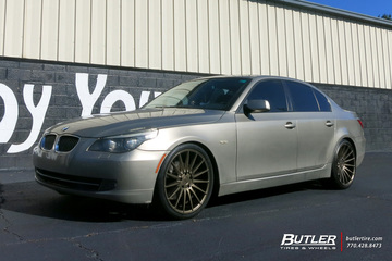 BMW 5 Series with 20in Niche Form Wheels