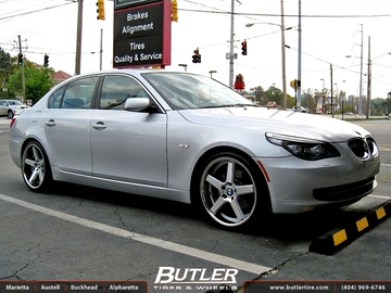 BMW 5 Series with 20in Niche Nurburg Wheels