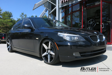 BMW 5 Series with 20in Savini BM11 Wheels