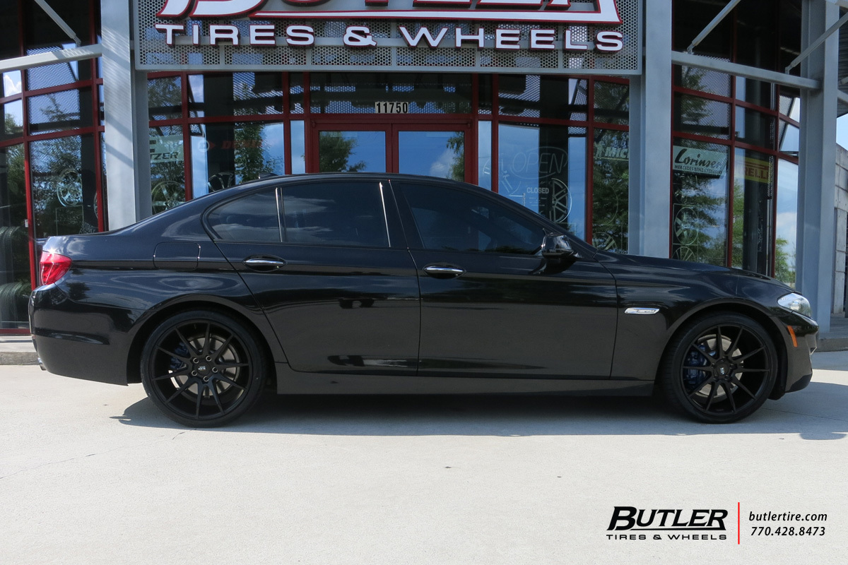 BMW 5 Series with 20in Savini BM12 Wheels