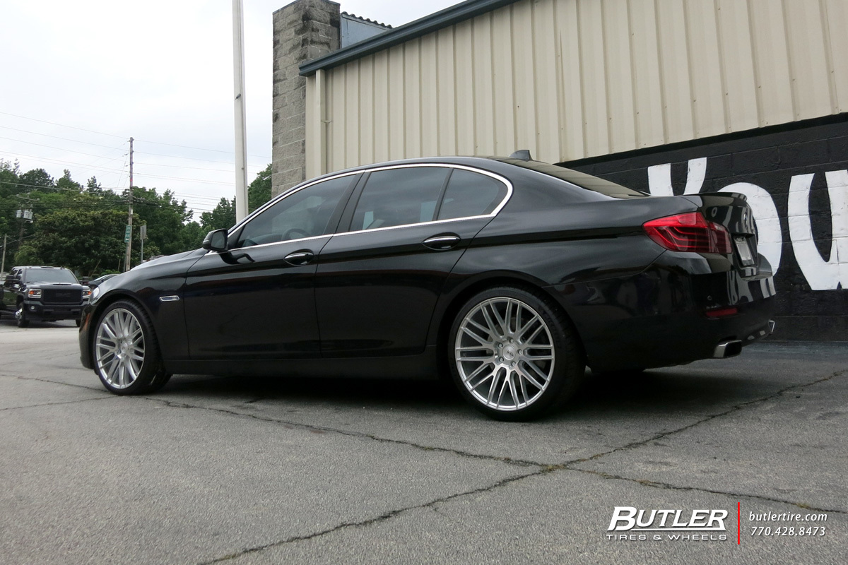 BMW 5 Series with 20in Savini BM13 Wheels
