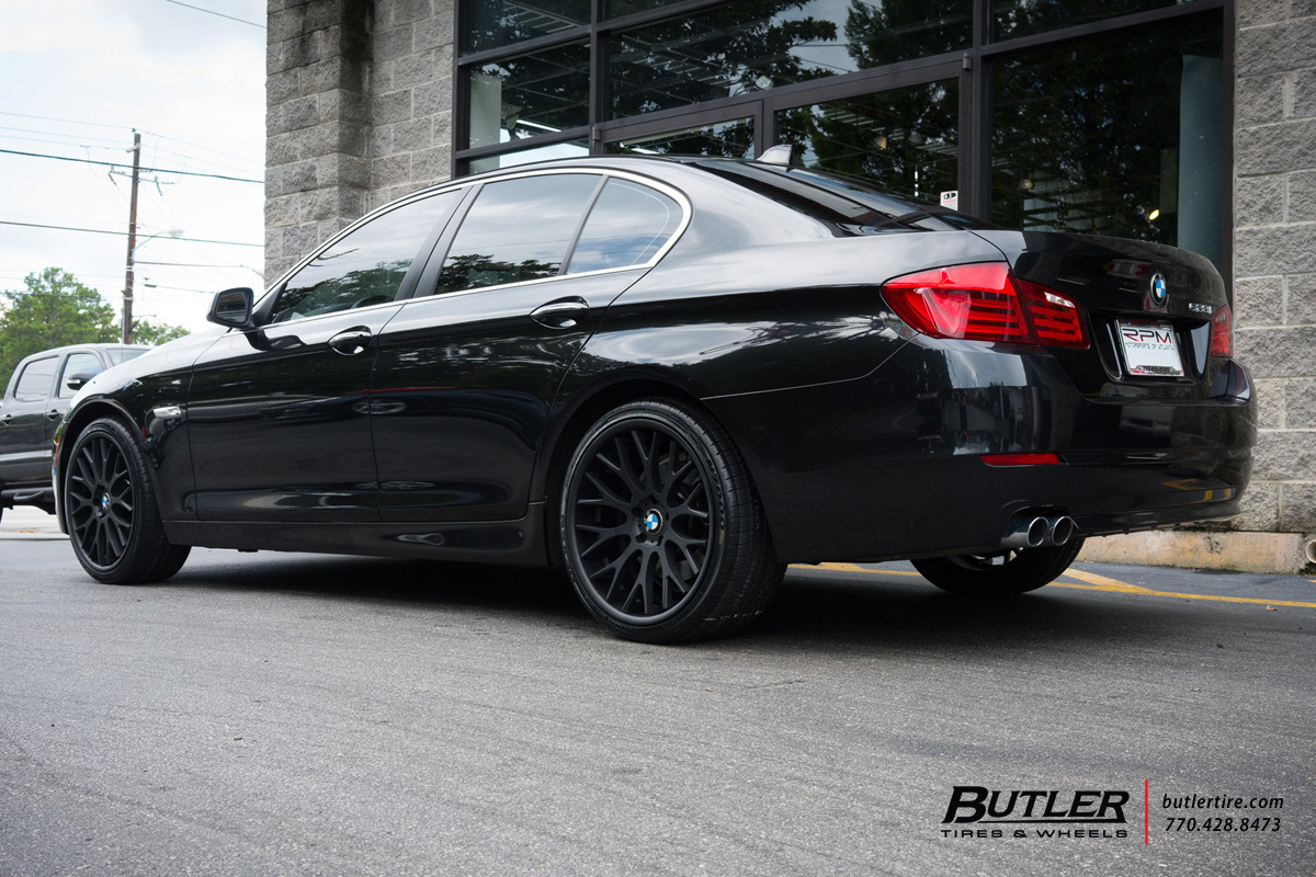 BMW 5 Series with 20in TSW Amaroo Wheels