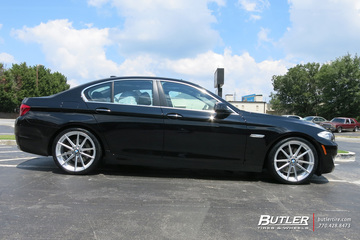 BMW 5 Series with 20in TSW Bathurst Wheels