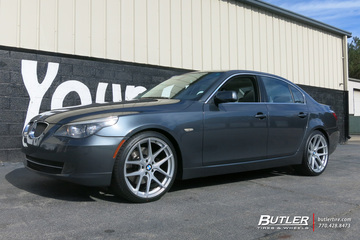 BMW 5 Series with 20in TSW Geneva Wheels