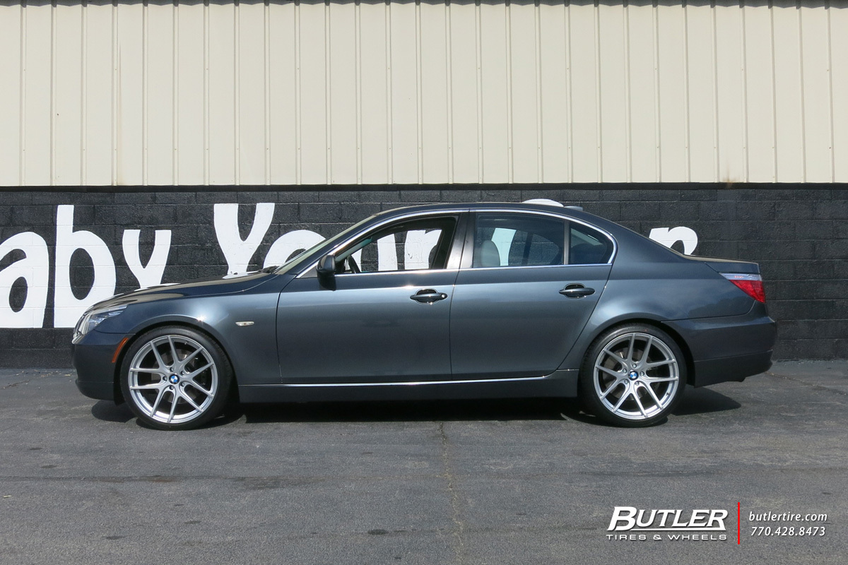 Bmw 5 Series With 20in Tsw Geneva Wheels Exclusively From
